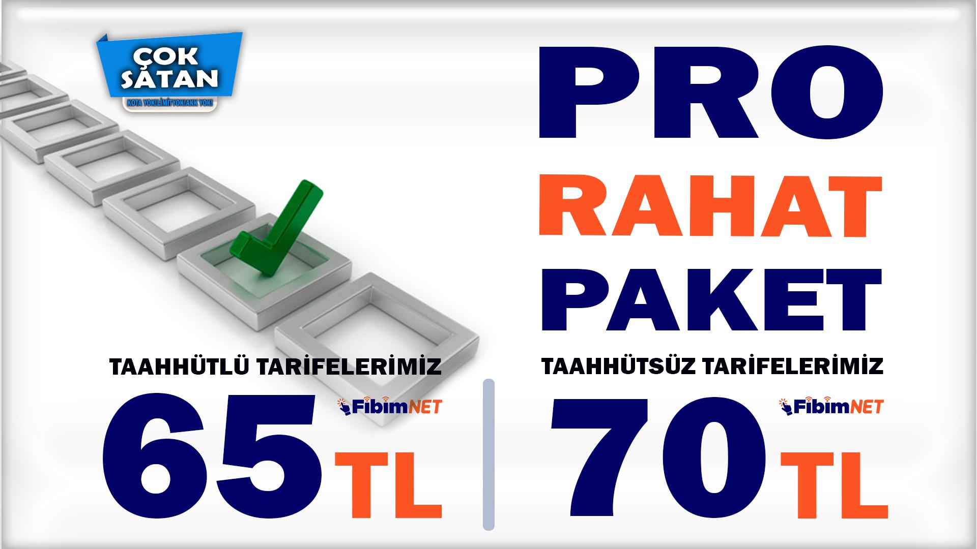 PRO PAKET TARİFELERİ